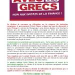 Proposition de déclaration PG84 référendum Grèce